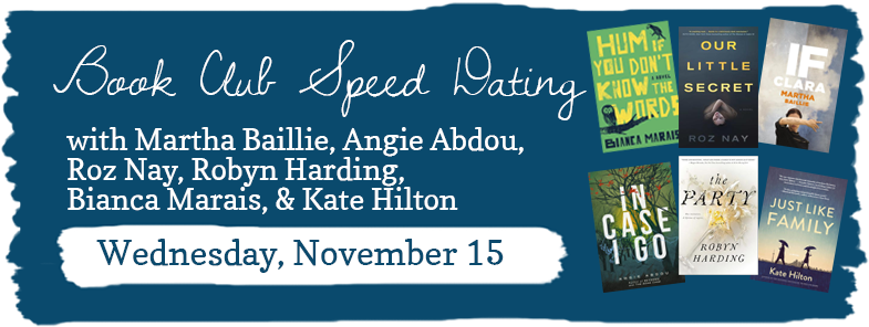 book club speed dating pensacola