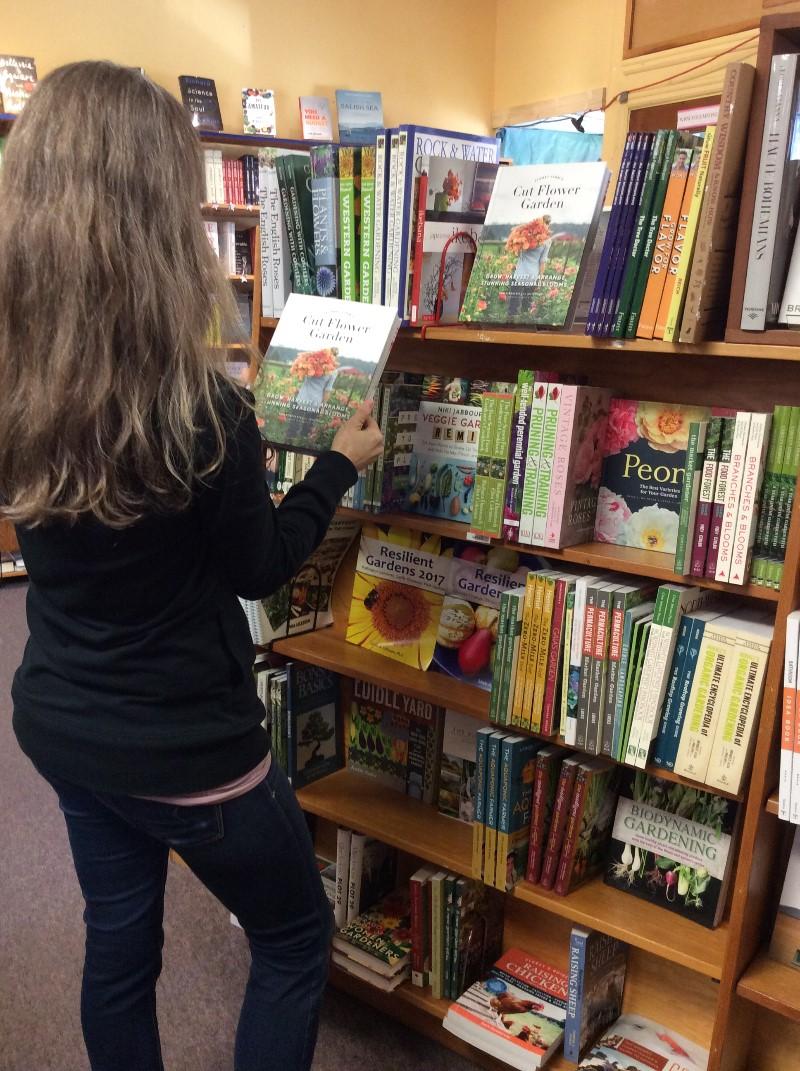 Gardening Books at Volume One Bookstore