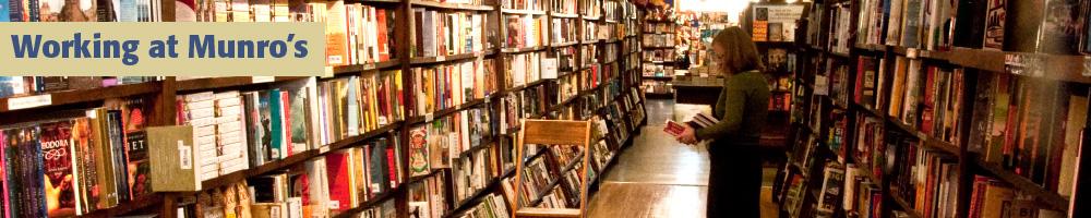 Working at Munro's Books