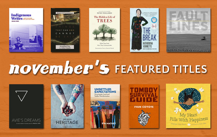 November Featured Titles