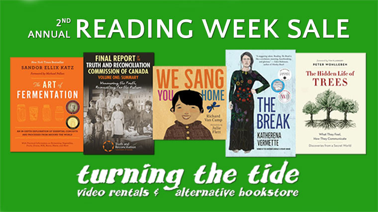 2nd Annual Reading Week Sale!