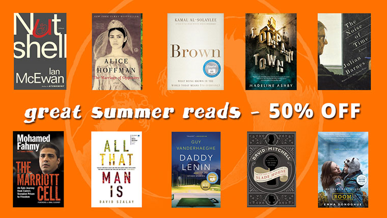 Great Summer Reads - 50% Off
