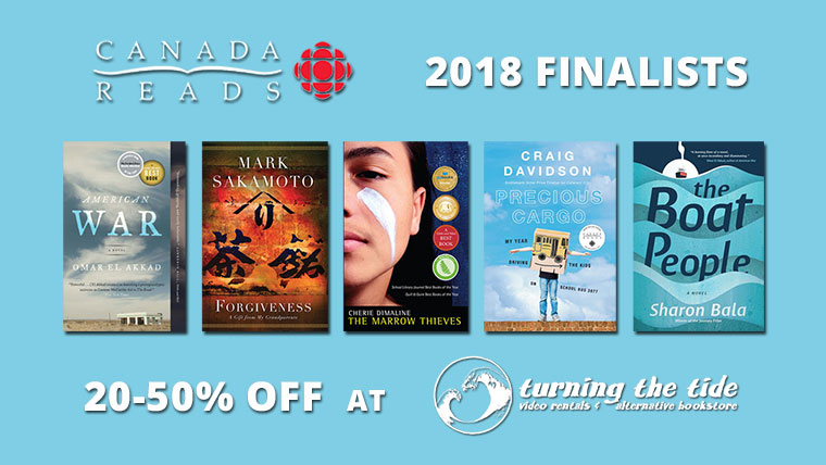 CBC Canada Reads 2018 Promotion