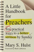 Cover image for Little Handbook for Preachers