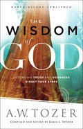 Cover image for Wisdom of God