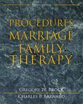 Cover image for Procedures in Marriage and Family Therapy