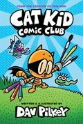 Cover image for Cat Kid Comic Club