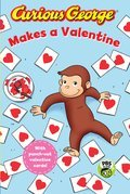 Cover image for Curious George Makes a Valentine (CGTV reader)