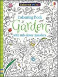 Cover image for Colouring Book Garden With Rub-Down Transfers