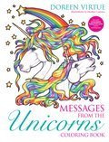 Cover image for Messages from the Unicorns Coloring Book