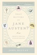 Cover image for What Matters in Jane Austen