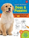 Cover image for Learn to Draw Dogs & Puppies