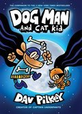 Cover image for Dog Man and Cat Kid
