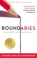 Cover image for Boundaries Updated and Expanded Edition