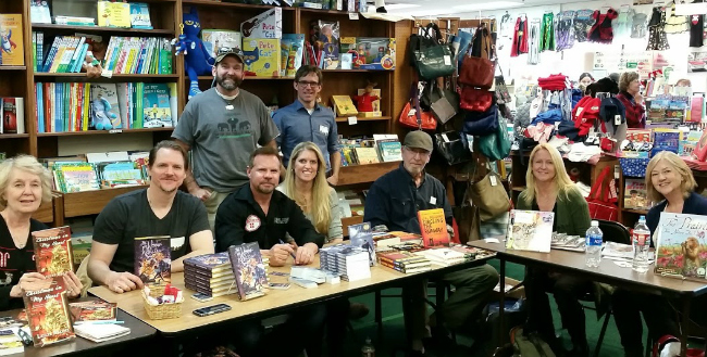 Small Business Saturday at The Bookies Bookstore