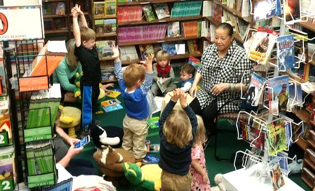 The Bookies Bookstore pre-school storytime with Sue Leiser